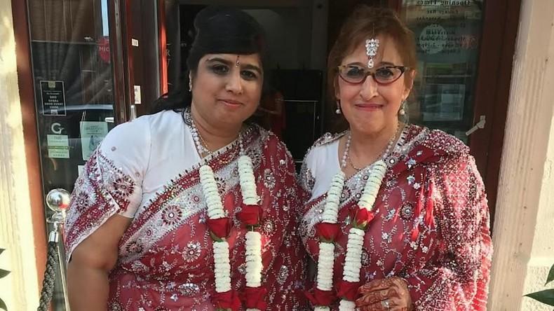 Erste interreligiöse lesbische Hochzeit in Großbritannien