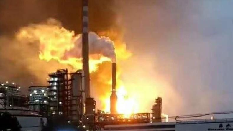 Explosion im Chemiewerk im Norden Chinas [VIDEO, FOTO]