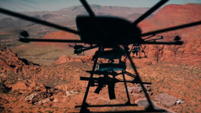 US-Rüstungsunternehmen entwickelt Drohne für Scharfschützengewehre