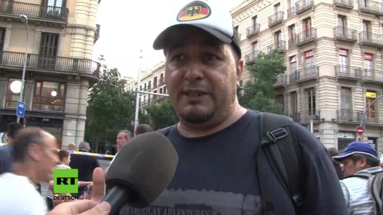 """""""Kinderkörper, die abgedeckt auf der Straße lagen"""" - Augenzeuge beschreibt Horror von Barcelona"""