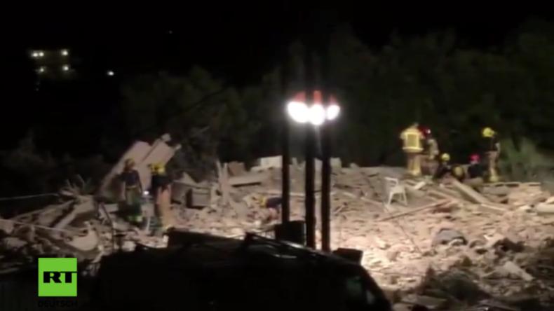Spanien: Haus in die Luft gejagt – Polizei sieht Zusammenhang mit Terror auf La Rambla