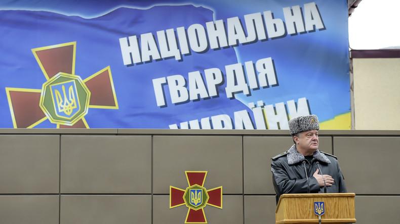 Gegen Trinksucht mit Gotteswort und Sport: Einheiten für Alkoholiker in ukrainischer Nationalgarde