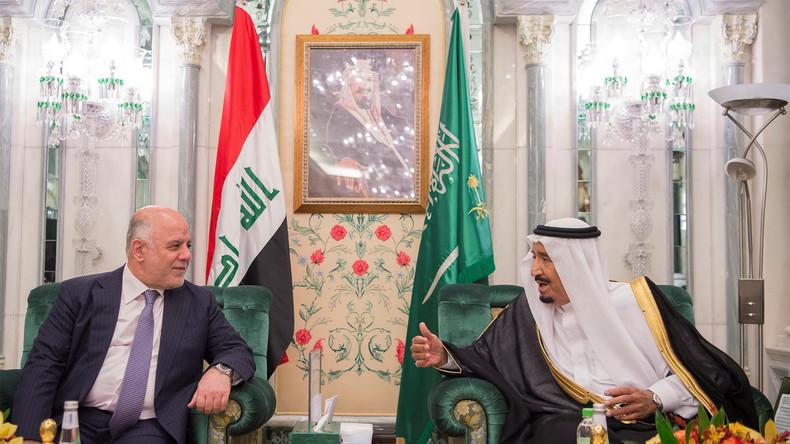 Saudis bieten Irak Allianz zum Wiederaufbau an - und wollen so den Iran ausbremsen