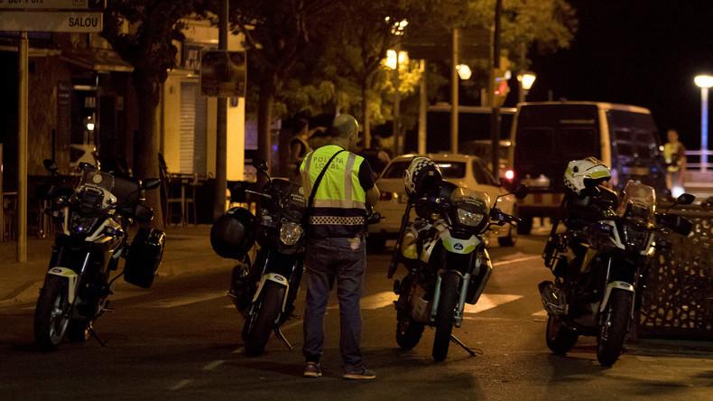 Polizist geht allein gegen vier Terroristen in Cambrils vor
