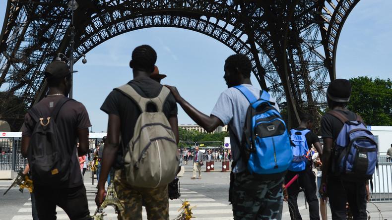 Polizei räumt Lagerplätze von Flüchtlingen im Norden von Paris