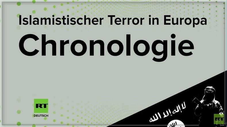 Chronologie des Terrors in Europa