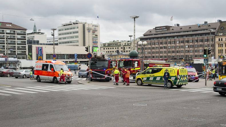 Zwei Tote und sechs Verletzte bei Messerangriff in Turku -  Bezug zu Terrorismus unbestätigt