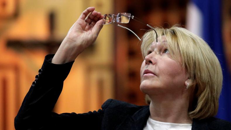 Venezuelas Ex-Generalstaatsanwältin Luisa Ortega flieht nach Kolumbien