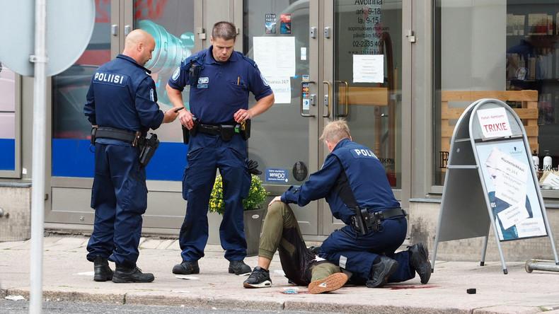 Finnische Polizei ermittelt gegen Angreifer von Turku wegen Terrorismus