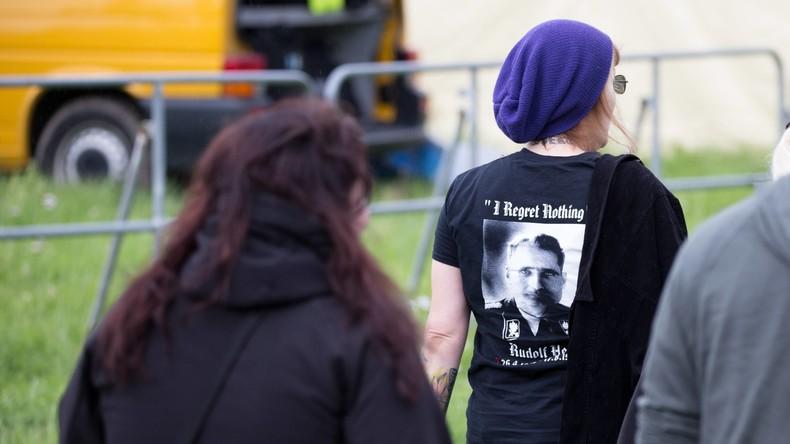 LIVE: Europäische Neonazi-Kundgebung in Berlin: Gegen-Demonstrationen erwartet