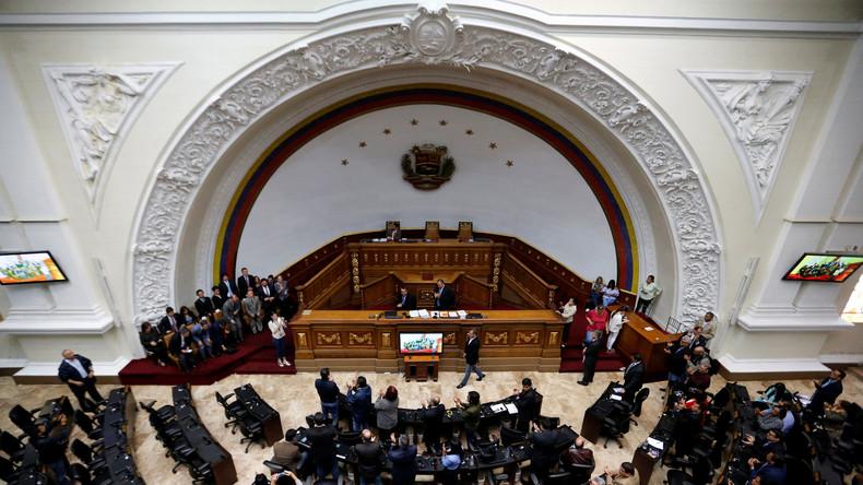 Venezuelas Parlament will sich nicht auflösen