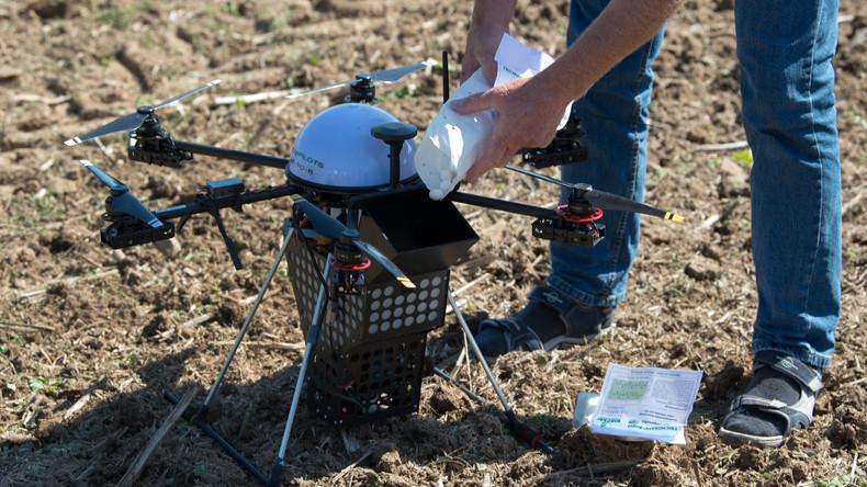 Drohne bringt Droge: US-Bürger missbraucht High-Tech