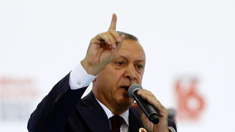 """Erdogan an Gabriel im Streit um Wahleinmischung: """"Wer sind Sie denn? Erkennen Sie Ihre Grenzen."""""""