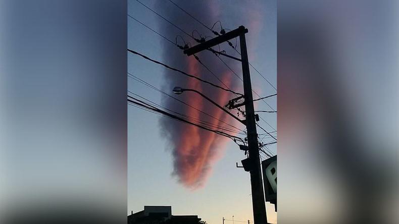 Apokalyptische Wolke spukt am Himmel über Brasilien herum [FOTO, VIDEO]