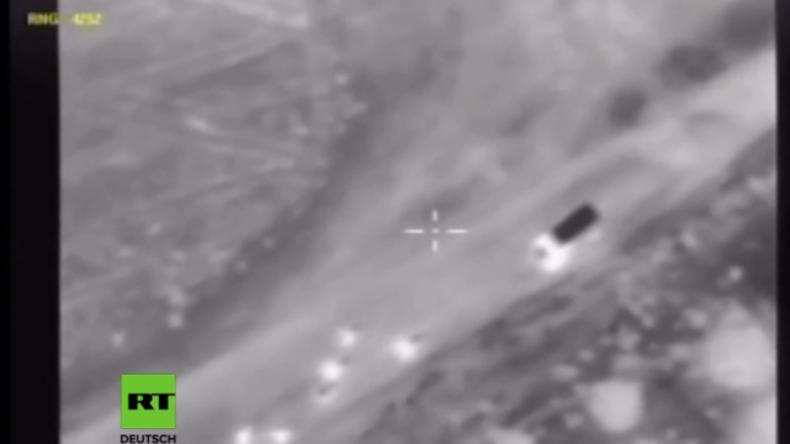 Syrien: Russland zerstört IS-Konvoi und tötet über 200 Terroristen