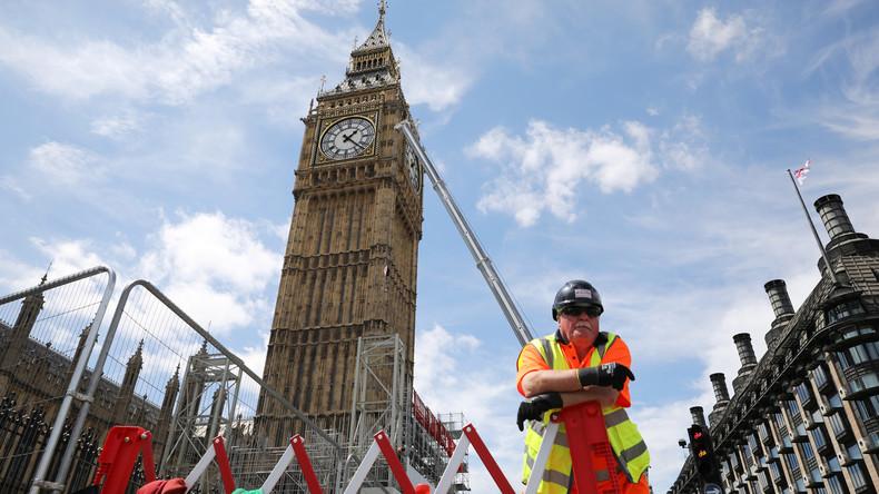 LIVE aus London: Big Ben läutet heute wegen Renovierung zum vorerst letzten Mal zu Mittag