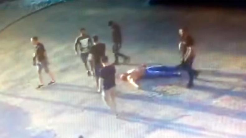 Russischer Powerlifting-Champion bei Straßenkampf zu Tode geprügelt [Verstörendes Video]