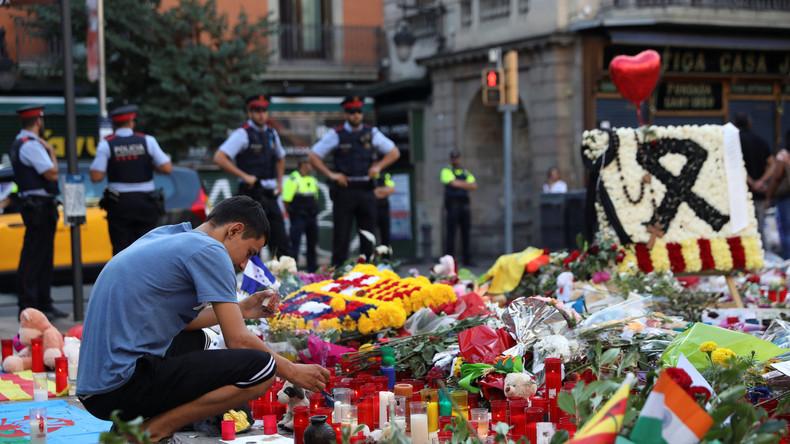 Zahl der Todesopfer der Terroranschläge in Barcelona und Cambrils hat 15 erreicht