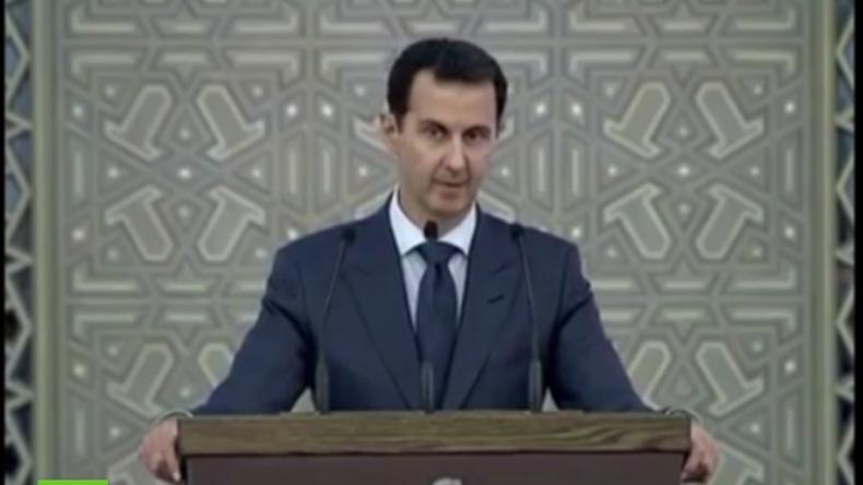 Assad dankt Verbündeten und zeigt sich siegessicher gegen Terror und dessen westliche Unterstützer