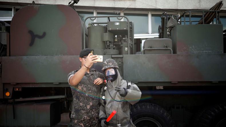 Nordkorea-Krise: USA und Südkorea beginnen Manöver und wenden sich von der Diplomatie ab