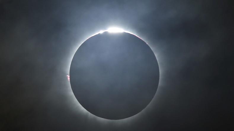 LIVE: Sonnenfinsternis vom Boden aus gesehen – Universität von South Carolina