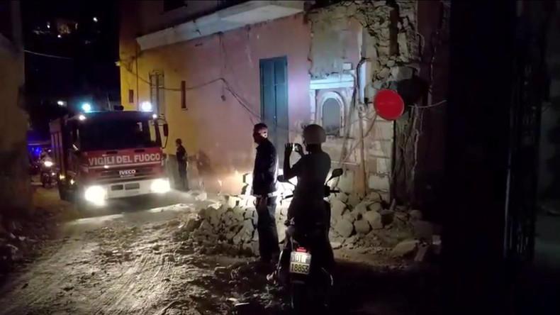 Erdbeben auf italienischer Urlaubsinsel Ischia fordert mindestens zwei Menschenleben