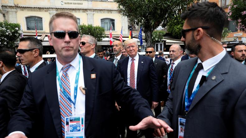 Secret Service steht vor Finanzkrise, weil Trump zu viel reist