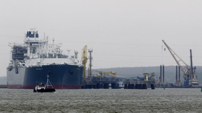 Kampfansage an Moskau: USA beliefern Litauen mit Flüssiggas