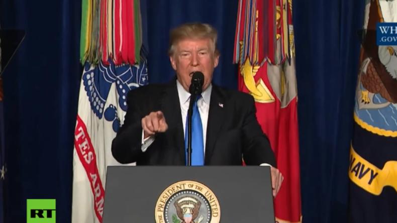"""Trump zu Afghanistan: """"Ich werde nicht sagen, wann wir angreifen, aber wir werden angreifen!"""""""