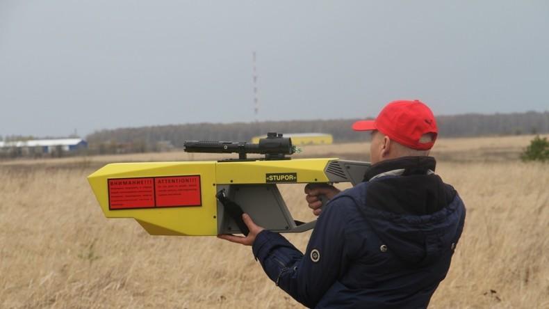 Russisches Verteidigungsministerium entwickelt elektromagnetische Waffe gegen Drohnen