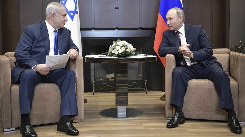 Netanjahu zu Putin: Irans wachsende Rolle in Syrien bedroht Israel