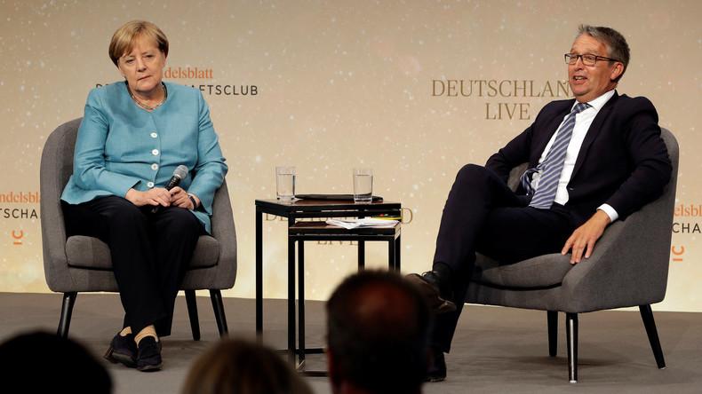 Merkel: Abgeschottetes Amerika kann nicht großartig sein