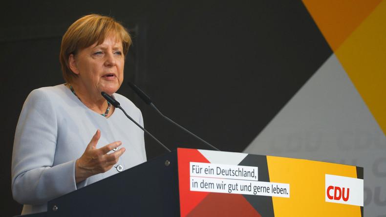 Angela Merkel sieht keine militärische Lösung für Nordkorea