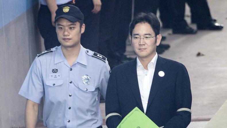 Korruptionsskandal: Südkoreanisches Gericht verurteilt Samsung-Erben zu fünf Jahren Haft