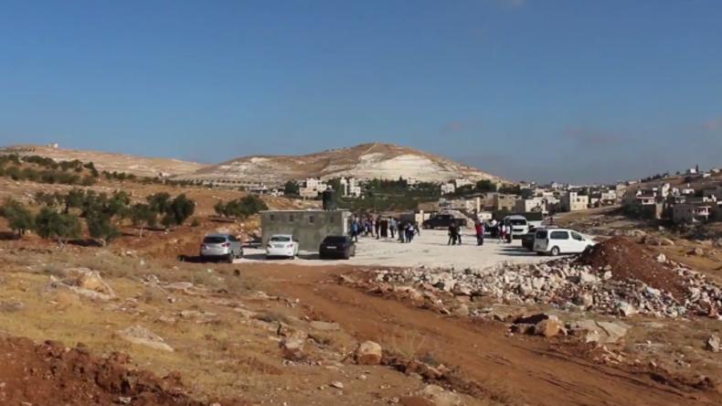 Einen Tag vor Schulbeginn: Israel zerstört Räume einer EU geförderten Schule im Westjordanland