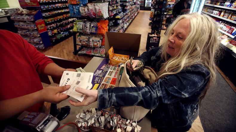 USA: Größter Einzelgewinn in Lottogeschichte geknackt, weniger als Hälfte abgeholt