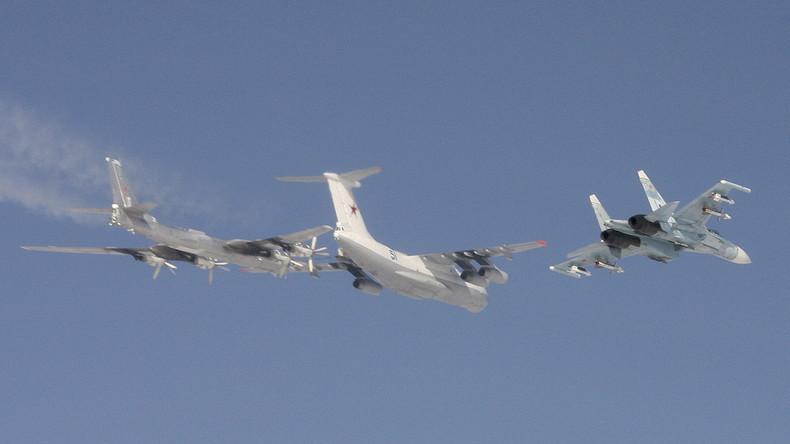 Korea-Krise: Russische Langstreckenbomber fliegen Einsätze rund um die koreanische Halbinsel