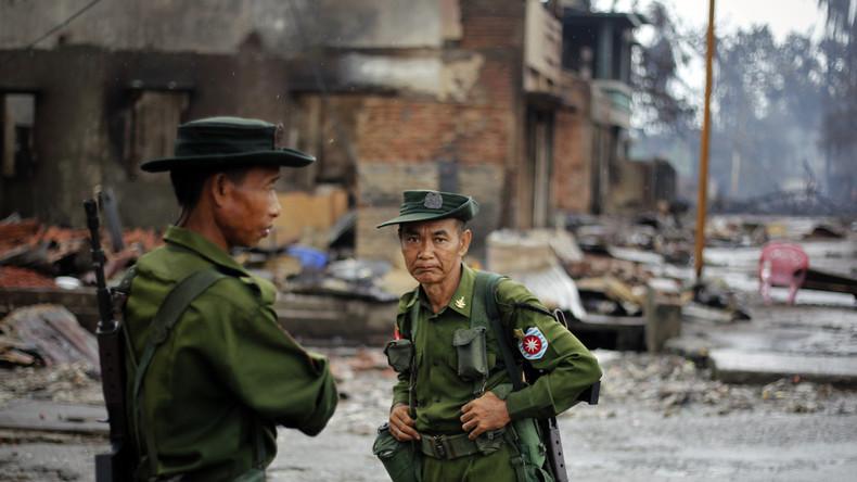 Myanmar: Muslimische Aufständische stürmen 24 Polizeistationen - Mindestens 12 Tote