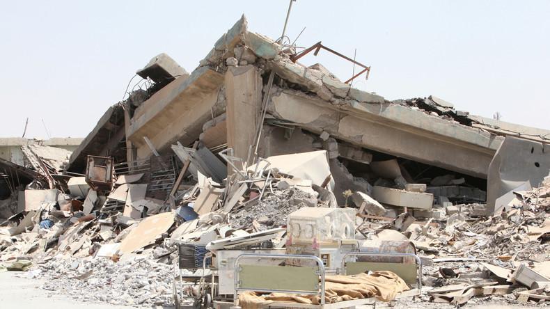 Nach US-Bombenteppich: Mossul übersät mit verwesenden Leichen
