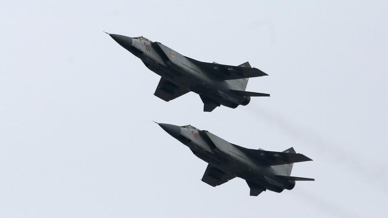 Russische Luftwaffe fängt 11 Spionageflugzeuge in nur einer Woche nahe russischer Grenze ab