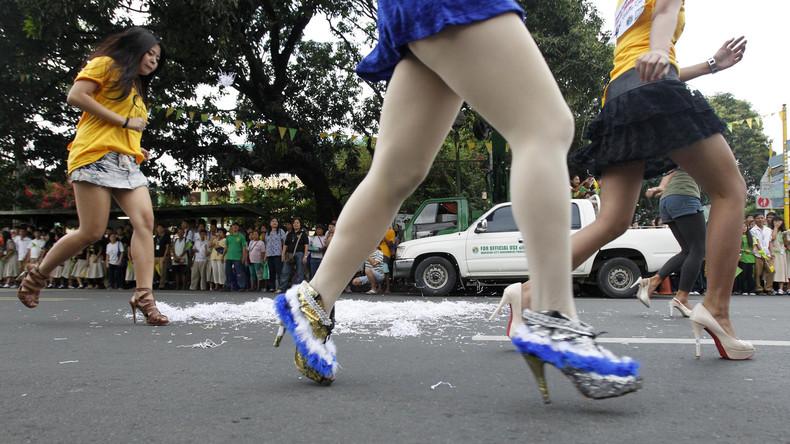 Philippinen: High Heels am Arbeitsplatz nicht mehr Pflicht