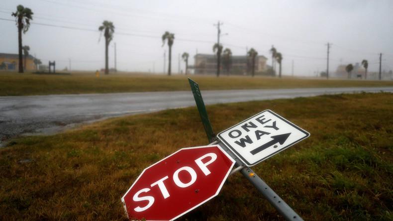 """Hurrikan """"Harvey"""" erreicht US-Bundesstaat Texas"""