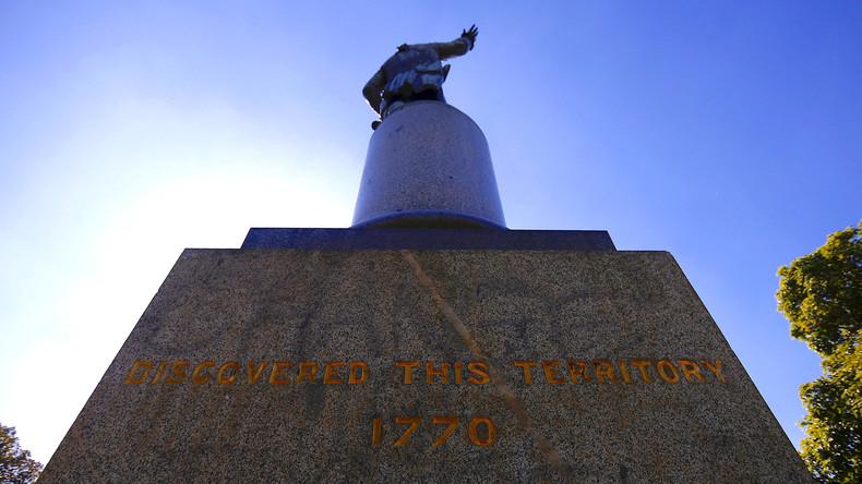Vandale schänden James-Cook-Denkmal in Sydney