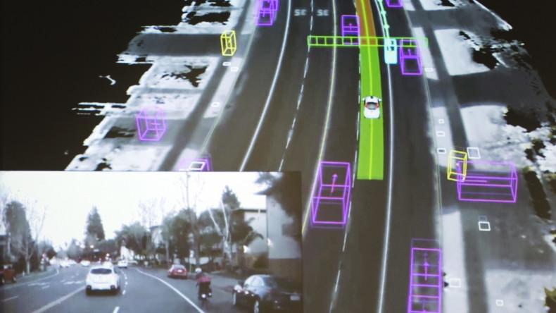 Deutsche Hersteller führen bei Patenten zum autonomen Fahren