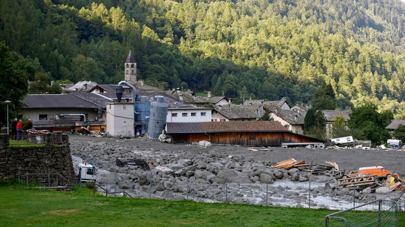 Schweizer Polizei gibt Vermissten-Suche nach Bergsturz auf