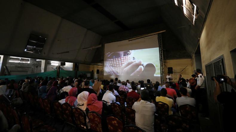 Gaza: Kino öffnet erstmals seit 30 Jahren wieder