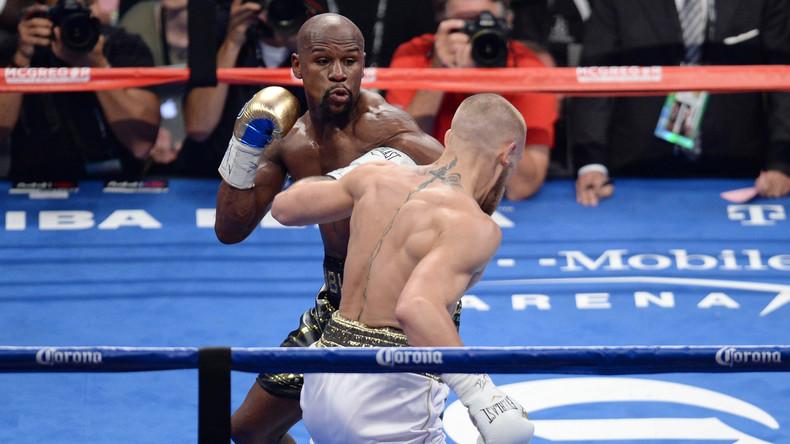 US-Boxer Floyd Mayweather gewinnt seinen 50. Karriere-Kampf