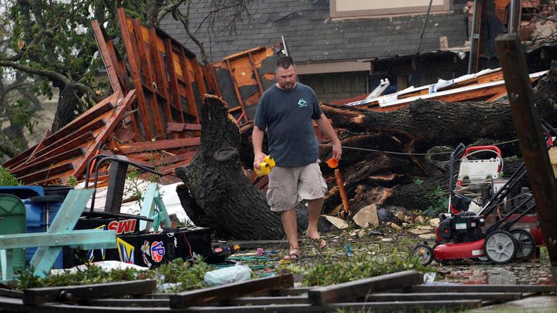 """Tropensturm """"Harvey"""" fordert in Texas mindestens zwei Menschenleben"""