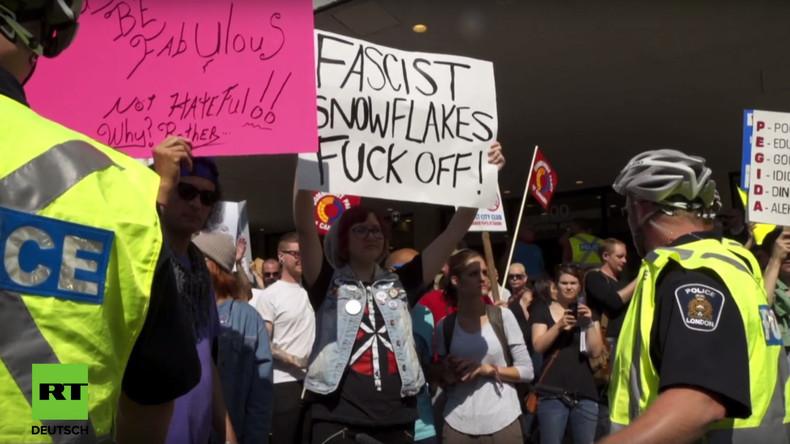 Kanada: Festnahmen bei PEGIDA-Demo in Ontario