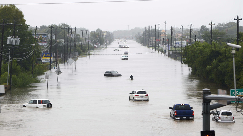 Nach Fluten in Texas: Trump reist ins Katastrophengebiet